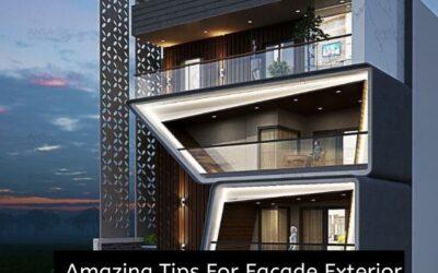 Amazing Tips For Facade Exterior Designing